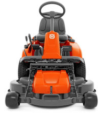 Husqvarna R214TC rider lawnmower front view