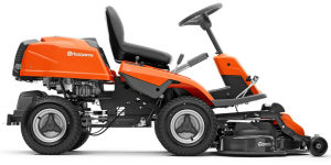 Husqvarna R214TC rider lawn mower side view