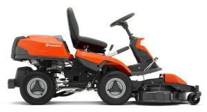 Husqvarna R316TXs AWD rider lawn mower side view