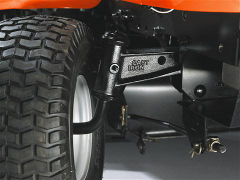 Husqvarna TC142T front axle made from solid cast iron