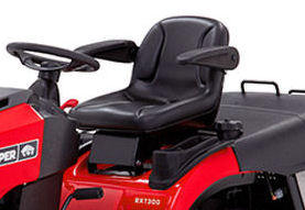 Snapper RXT300 extra comfort seat with arm rests
