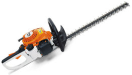 Stihl HS45 petrol powered hedge trimmer