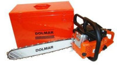 Dolmar PS52 chainsaw