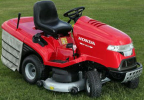 Honda HF2417HME ride on mower 2013
