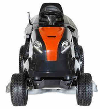 Oleo Mac Ride On Lawn Mower OM 105/18.5H front view